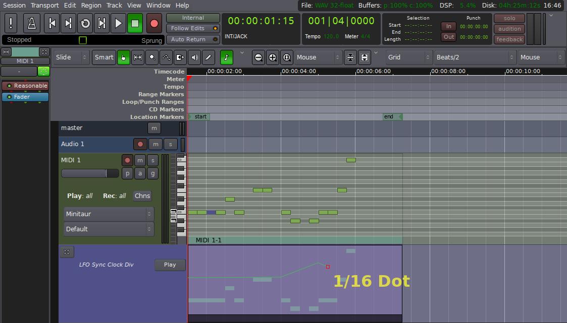 Generic MIDI Binding Maps - The Ardour Manual