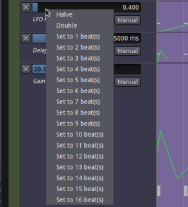 Setting a low frequency port in beats.